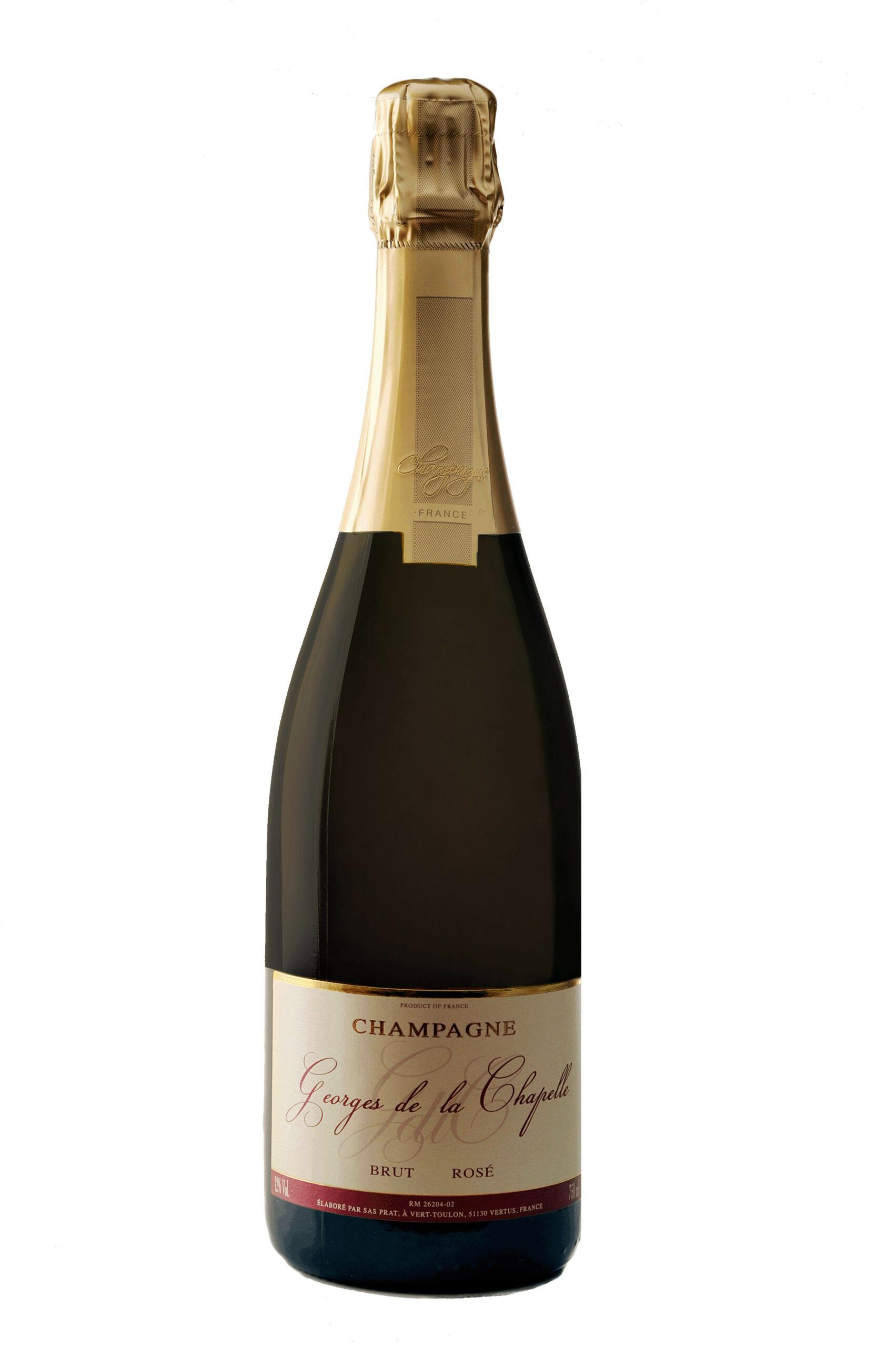 George de la Chapelle Rosé Champagnebobler.dk